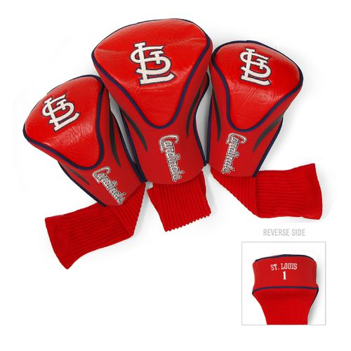 Team Golf St. Louis Cardinals Contour Sock Head Covers 3-Pack