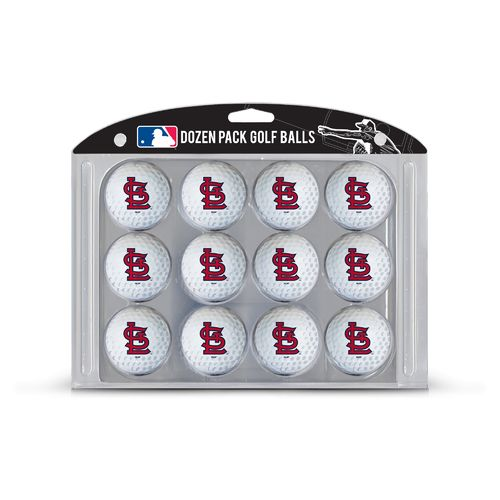 Team Golf St. Louis Cardinals Golf Balls 12-Pack