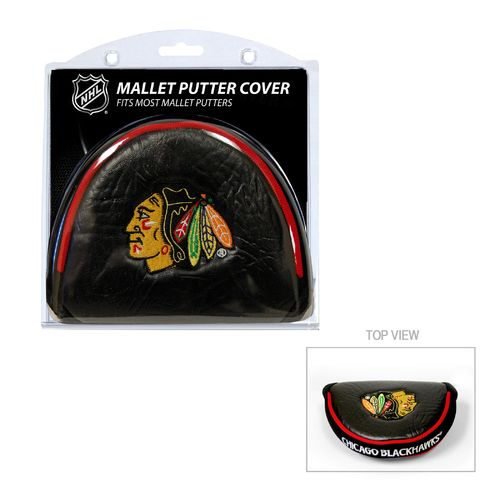 Team Golf Chicago Blackhawks Mallet Putter Cover - view number 1