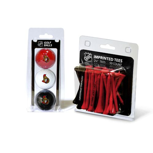 Team Golf Ottawa Senators Golf Ball and Golf Tee Set
