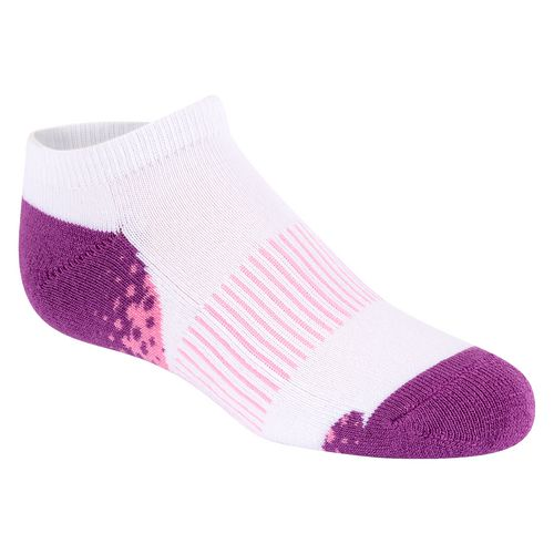 BCG Girls' Cushioned No-Show Socks