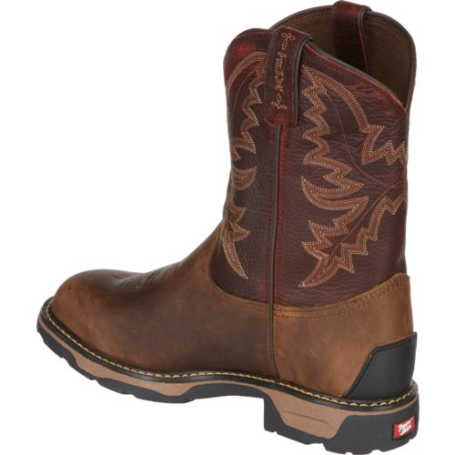 Tony Lama Kids' Crazy Horse TLX Western Work Boots - view number 3