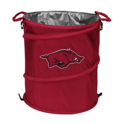 Display product reviews for Logo™ University of Arkansas Collapsible 3-in-1 Cooler/Hamper/Wastebasket
