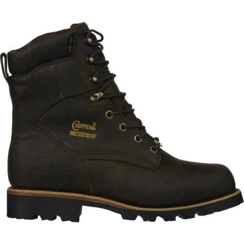 Chippewa Boots® Men's Bay Crazy Horse Utility Waterproof