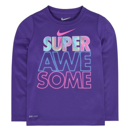 Nike Girls' Awesome Long Sleeve T-shirt