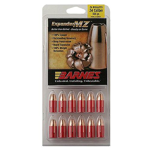 BARNES .50 Expander MZ 250-Grain Black Powder Bullets