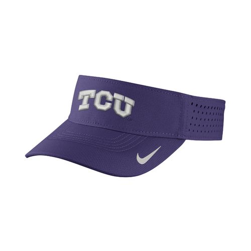Nike Men's Texas Christian University Vapor Adjustable Visor