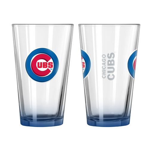 Boelter Brands Chicago Cubs Elite 16 oz. Pint Glasses 2-Pack