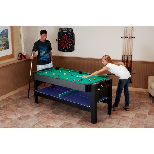 Fat Cat 3-in-1 Flip Air Hockey/Billiards/Table Tennis Game Table - view number 8