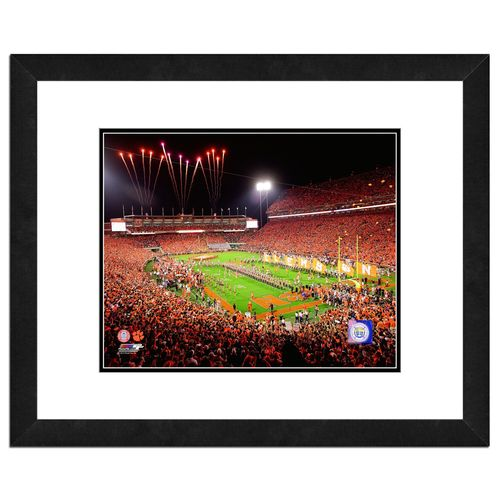 "Photo File Clemson University Stadium 16"" x 20"" Matted and Framed Photo free shipping"
