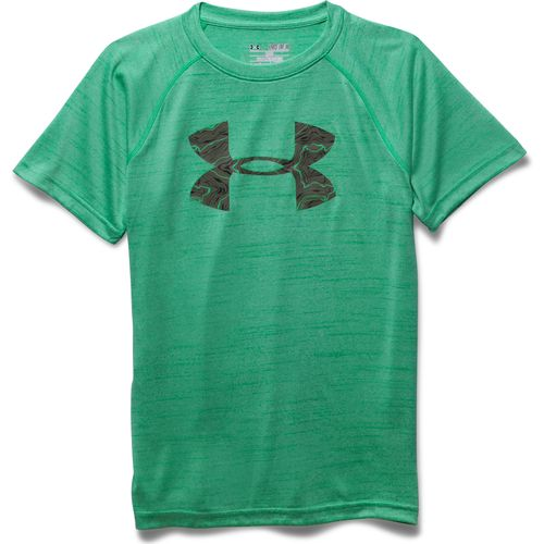 Display product reviews for Under Armour Boys' Big Logo Printed T-shirt