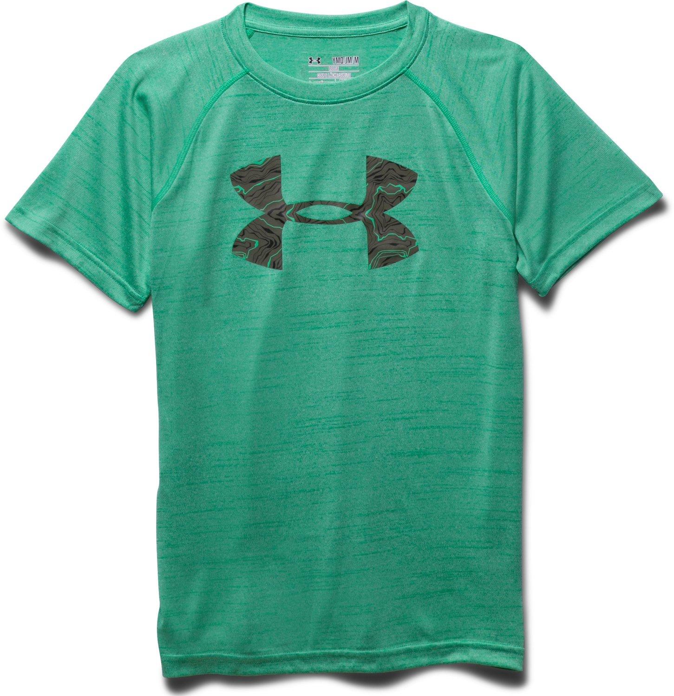 under armour boys 39 big logo printed t shirt academy