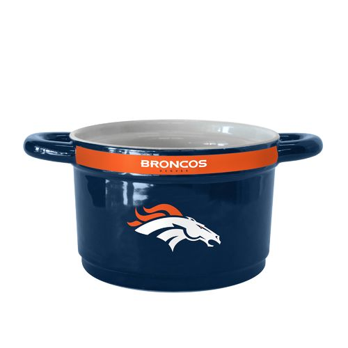 Boelter Brands Denver Broncos Gametime 23 oz. Ceramic Bowl