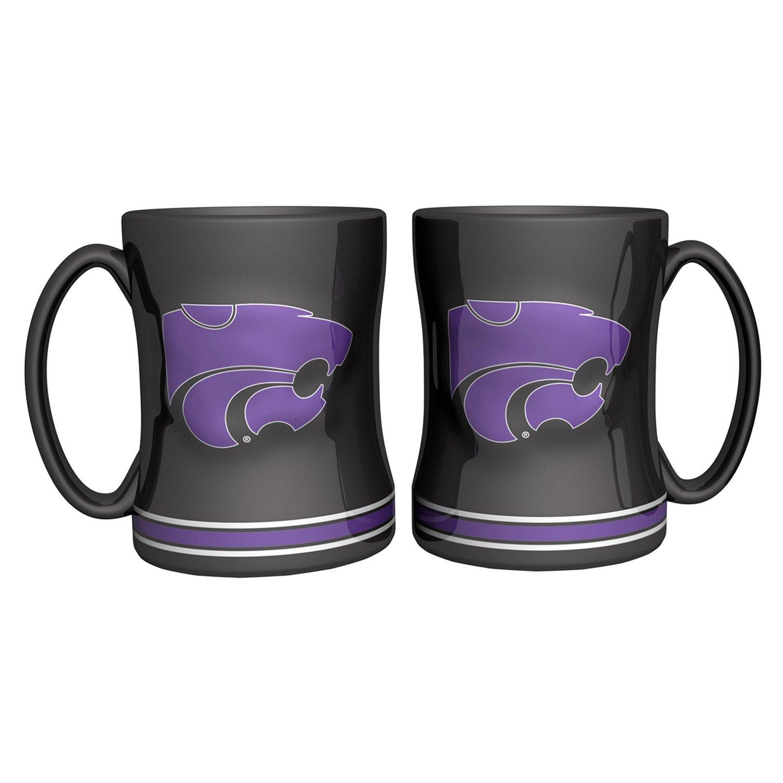 Top Boelter Brands Kansas State University 14 oz. Relief Mugs 2-Pack for cheap
