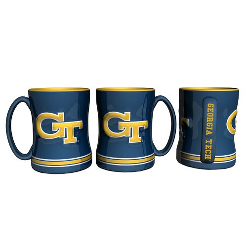 Boelter Brands Georgia Tech 14 oz. Relief Mugs 2-Pack - view number 1