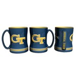 Boelter Brands Georgia Tech 14 oz. Relief Mugs 2-Pack