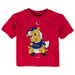 Majestic Infants' Texas Rangers Baby Mascot Short Sleeve T-shirt