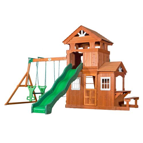 Display product reviews for Backyard Discovery™ Shenandoah Wooden Swing Set