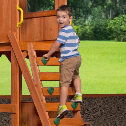 Backyard Discovery™ Weston Wooden Swing Set - view number 9