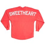 Above Wings™ Adults' Wing Back™ Sweetheart Long Sleeve Shirt