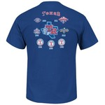 Majestic Men's Texas Rangers Last Rally T-shirt