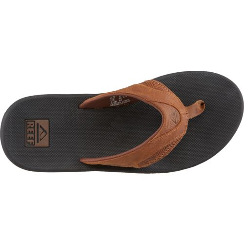 Reef Men's Leather Fanning Sandals - view number 4