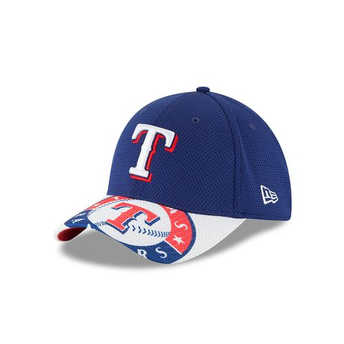 New Era Men's Texas Rangers 39THIRTY Duel Ball Cap