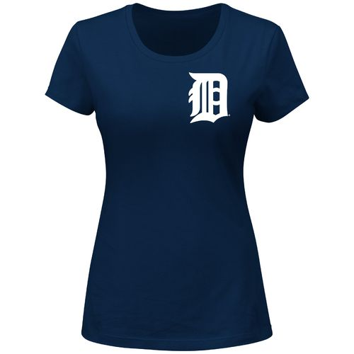 Majestic Women's Detroit Tigers Wordmark T-shirt - view number 1
