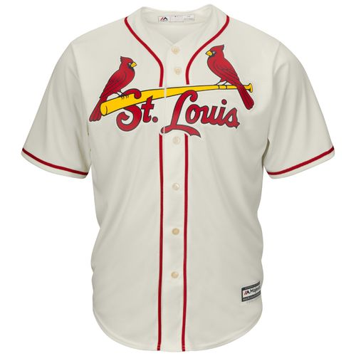 Majestic Men's St. Louis Cardinals Adam Wainwright #50 Cool Base Replica Jersey - view number 2
