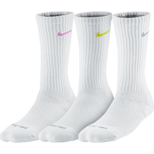 Nike Women's Dri-FIT Cushion Crew Socks 3-Pair