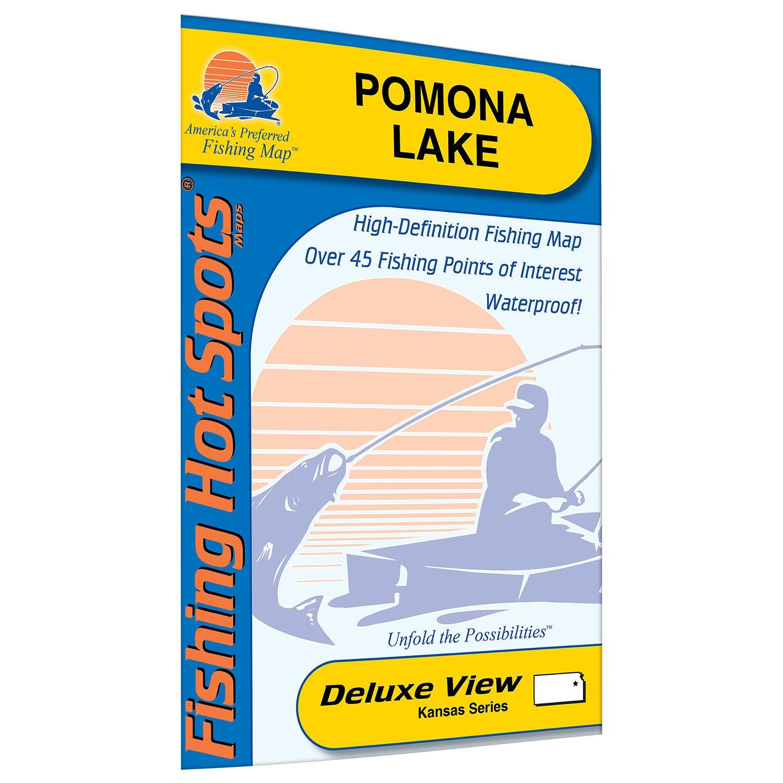 Fishing Hot Spots Pomona Lake Fishing Map