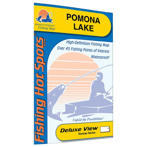 Fishing Hot Spots Pomona Lake Fishing Map