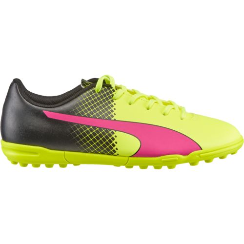 PUMA Kids' evoSPEED 5.5 Tricks TT JR Soccer Cleats