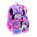 Disney™ Girls' Minnie Mouse Backpack with Lunch Pack