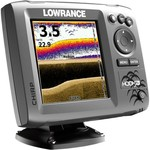Lowrance Hook 5x Mid/High DownScan Fishfinder