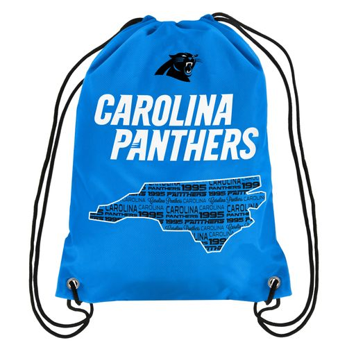 Team Beans Carolina Panthers Drawstring Backpack