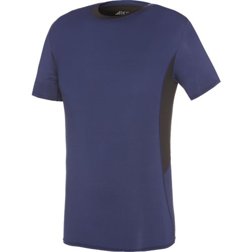 BCG Men's Fitted Compression Short Sleeve Crew Neck T-shirt