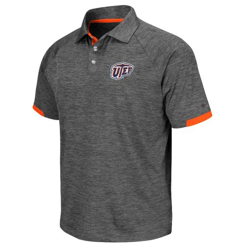 Colosseum Athletics Men's University of Texas at El Paso Spiral Polo Shirt