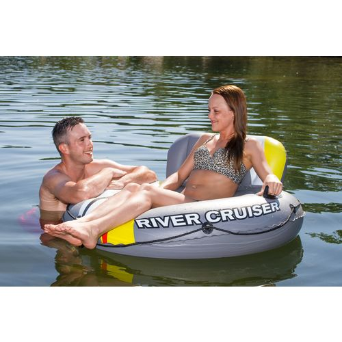 Poolmaster® DLX River Cruiser Lounge with Water Launcher - view number 5