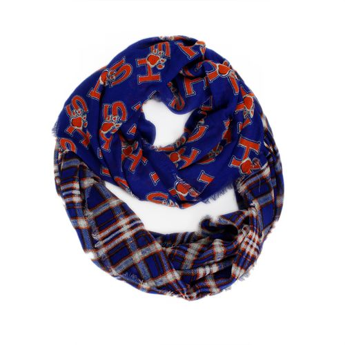 ZooZatz Women's Sam Houston State University Tartan Infinity Scarf