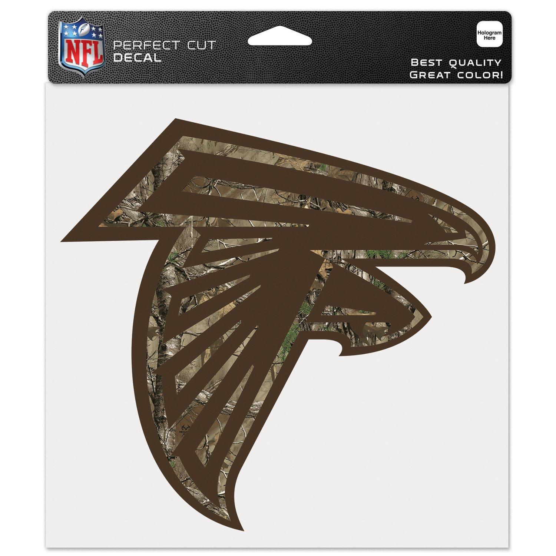 "WinCraft Atlanta Falcons Realtree Perfect Cut 8"" x"