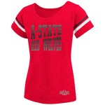 Colosseum Athletics™ Girls' Arkansas State University Fading Dot T-shirt - view number 1