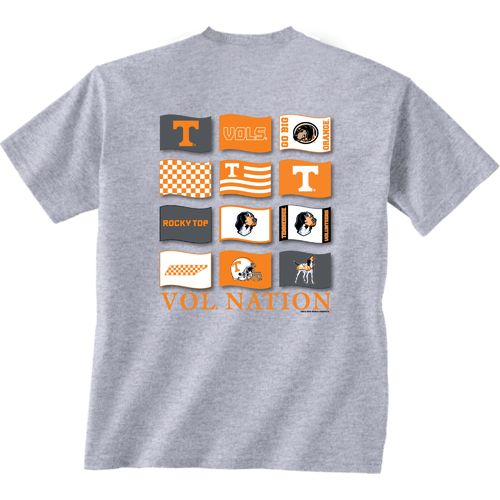 New World Graphics Men's University of Tennessee Flying Proud T-shirt