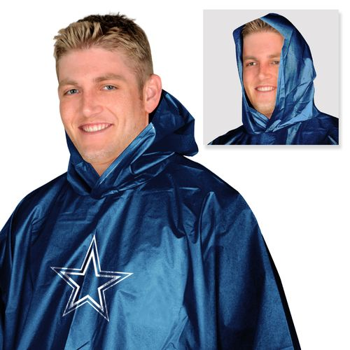 Mad Dasher Men's Dallas Cowboys Rain Poncho