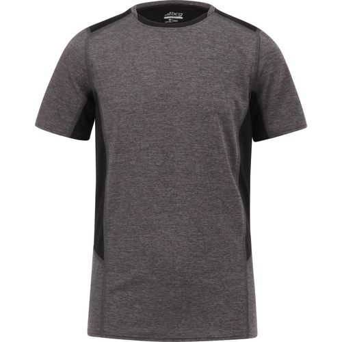 BCG Boys' Fitted Compression Colorblock Crew Training T-shirt free shipping