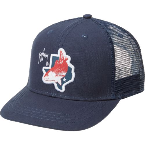 Guy Harvey Men's Lone Star Trucker Hat