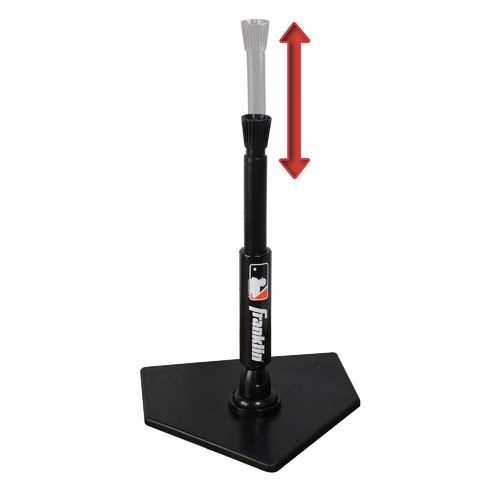 Franklin MLB 2-in-1 Power Spring Swing Batting Tee with Pop-Up - view number 2