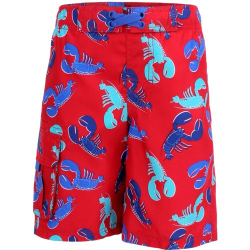 O'Rageous Boys' Lobster E-boardshort