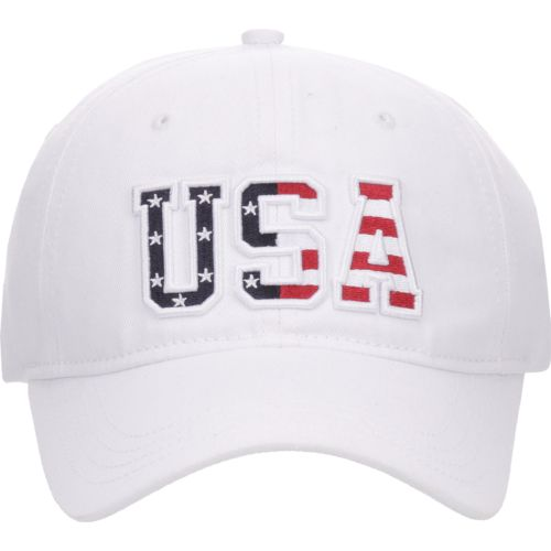 Academy Sports + Outdoors™ Men's Bold Embossed USA Logo Hat