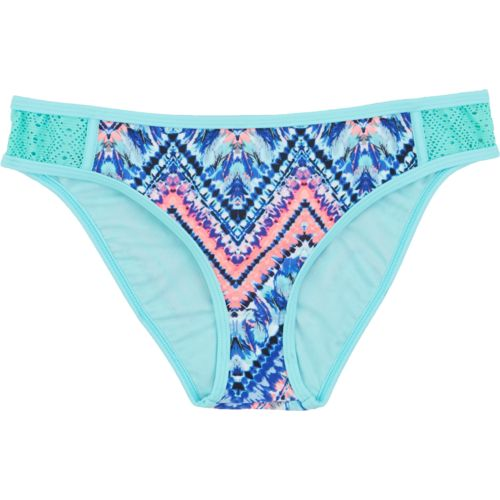 O'Rageous Juniors' Feather Tie Dye Swim Bottom